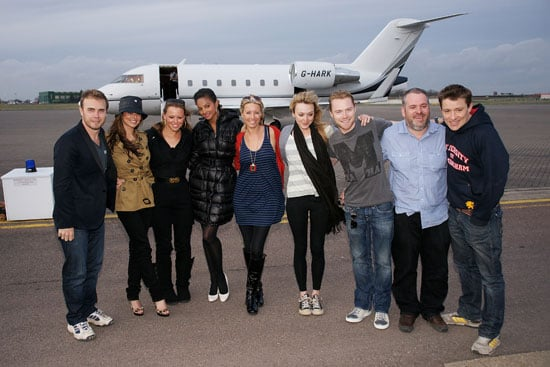 Photos of Comic Relief Kilimanjaro Celebs Gary Barlow, Cheryl Cole, Kimberley Walsh, Alesha Dixon, Fearne Cotton, Chris Moyles