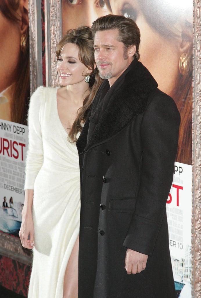 "He Calls Angelina Jolie ""Mama"""