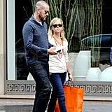 Reese Witherspoon and Jim Toth took in the sights of Paris.