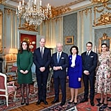 For Her Meeting With the Swedish Royal Family, Kate Wore a Catherine Walker Dress