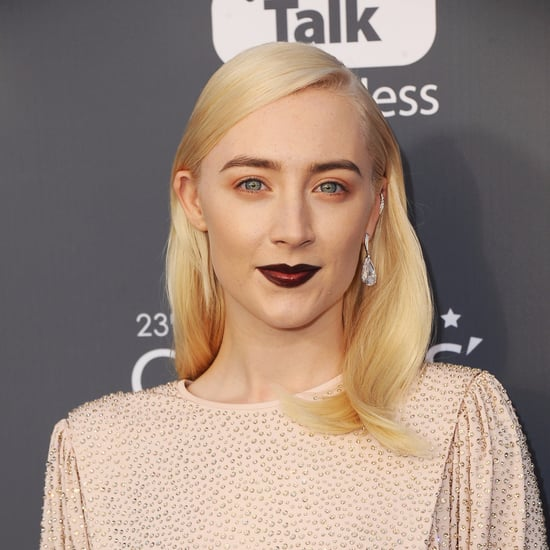 Saoirse Ronan Hair and Makeup at the Critics' Choice Awards