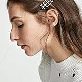Kitsch x Justine Marjan Feelings Rhinestone Bobby Pin