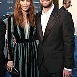 Justin Timberlake and Jessica Biel at 2017 Critics' Choice