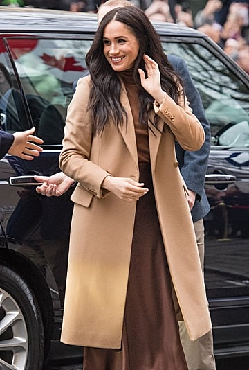 Meghan Markle's Tonal Brown Look at Canada House 2020