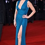 Catherine Zeta-Jones at the Dad's Army Premiere in January 2016