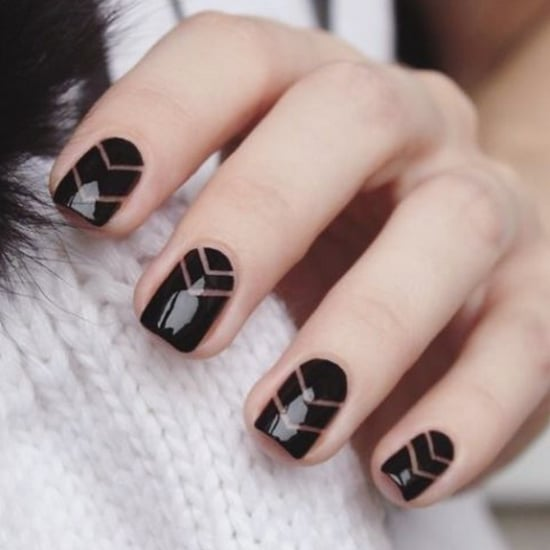 Black Manicure Ideas
