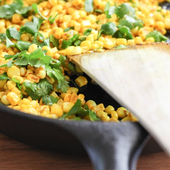 Sauteed Corn With Indian Spices