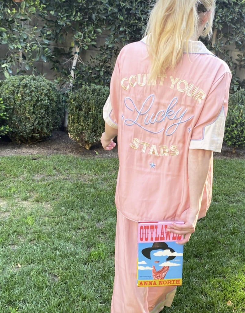 Emma Roberts's Count Your Lucky Stars Pink Pajamas