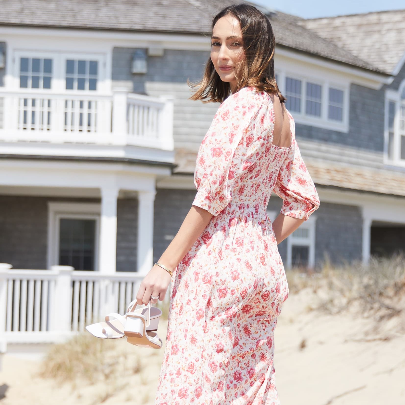 df2d4df086bc Gal Meets Glam Collection Phoebe Floral Puff-Sleeve Chiffon Maxi Dress |  Best Maxi Dresses From Nordstrom 2019 | POPSUGAR Fashion Photo 6