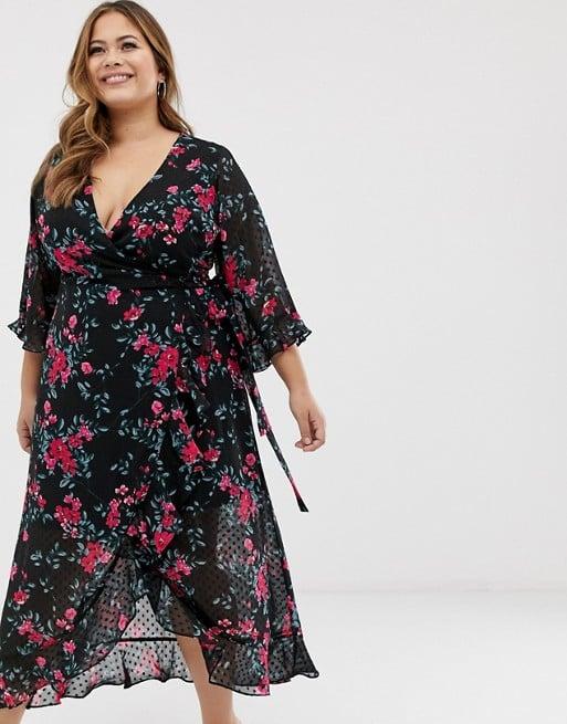 14846f02f005 Fashion Union Plunge-Front Midi Dress | Best A-Line Dresses ...