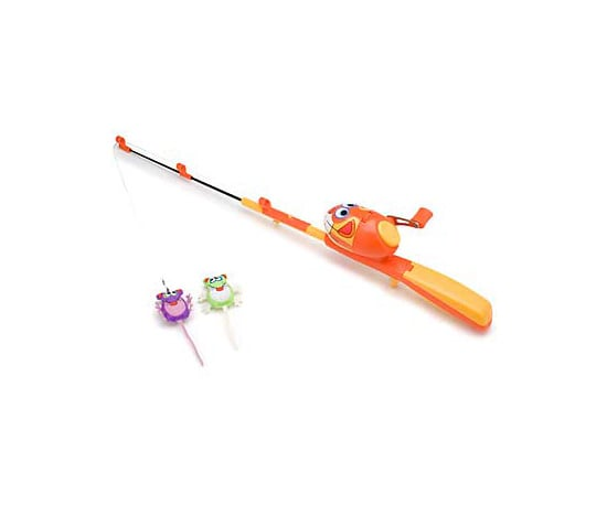 Kitty hoots catfisher fishing rod and reel cat toy go for Fish cat toy