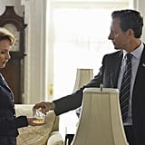 Scandal Kate Burton in the season premiere of Scandal.