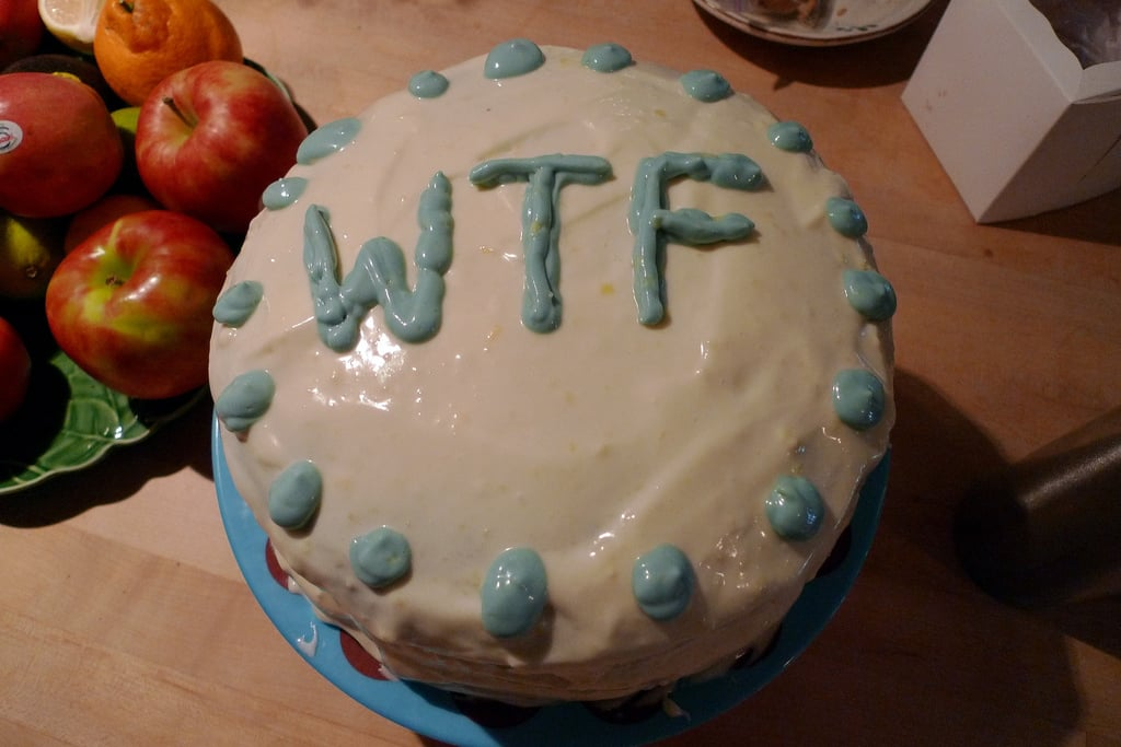 Epic Fail Birthday Cake