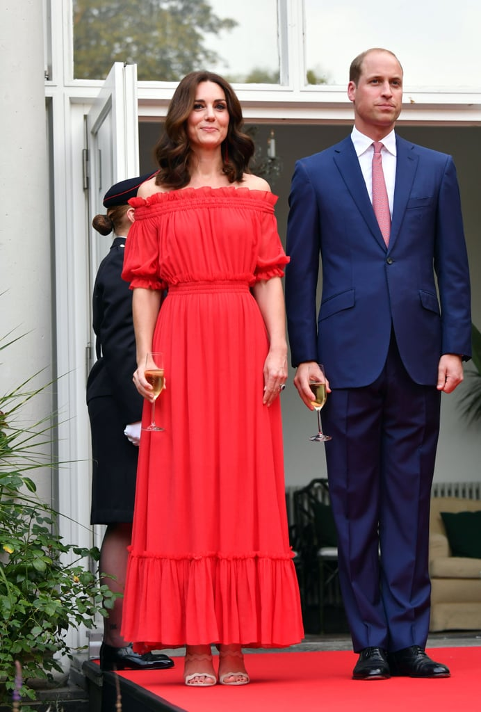 Kate First Debuted the Alexander McQueen Gown in 2017, at a Garden Party in Berlin