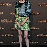 A bright Proenza Schouler look for a fan event for New Moon in London.