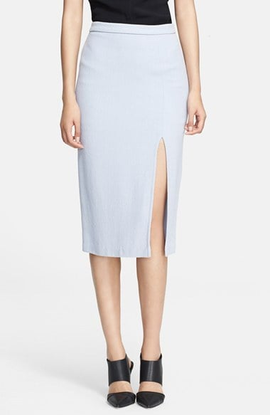 A.L.C. Slit Pencil Skirt