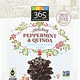 365 Everyday Value Dark Chocolate Quinoa & Peppermint Bark Thins