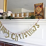 Harry Potter Christmas Banner