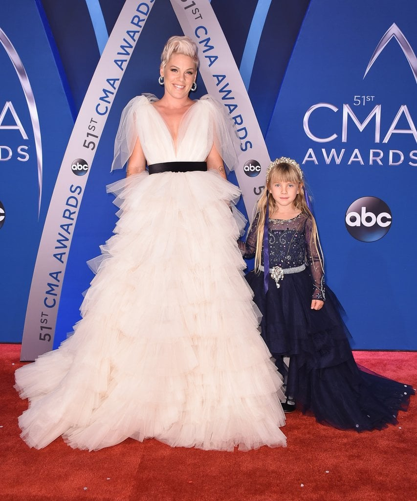 She loves bringing Willow on the red carpet with her.
