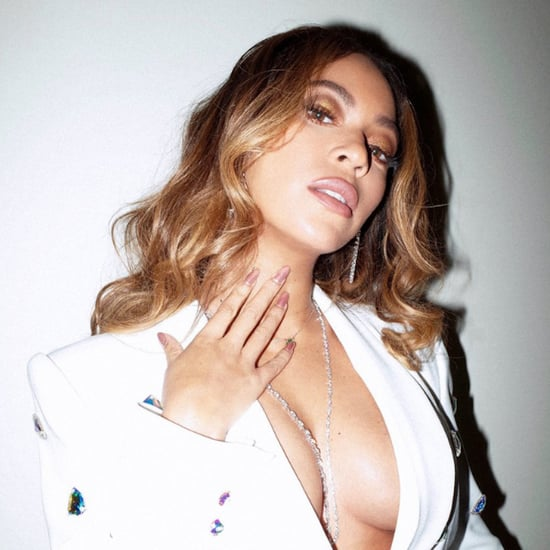 Beyoncé's White Blazer and Miniskirt February 2019
