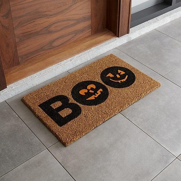 Crate Amp Barrel Quot Boo Quot Doormat Halloween Doormats