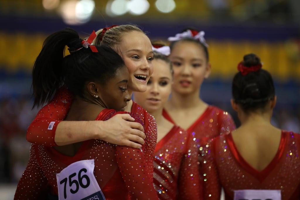 USA Women's Gymnastics Wins World Championship 2018