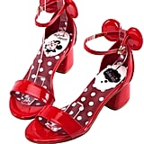 Minnie Mouse Heels in Red ($48)