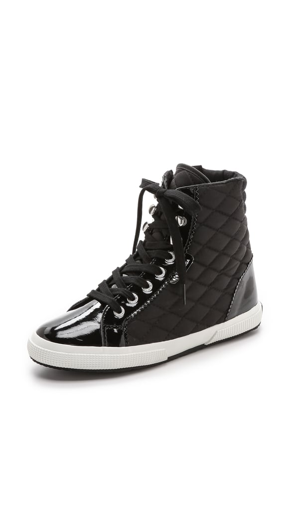 Superga Quilted High-Top Sneakers ($99)
