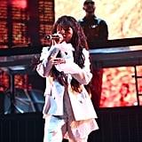 Selena Gomez White Outfit at Coachella 2019