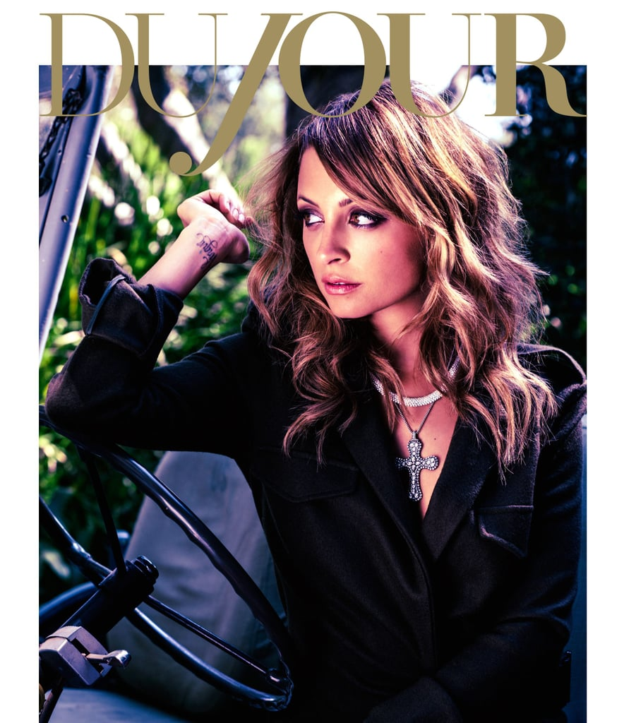Nicole Richie covered DuJour magazine's second-ever issue.