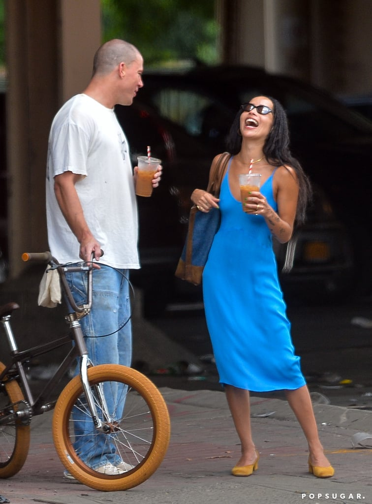 """Zoë Kravitz and Channing Tatum sure have been spending quite a lot of time together. Though neither Zoë nor Channing have publicly commented on the status of their relationship, according to Entertainment Tonight, the two are indeed dating. """"It started out as a friendship and eventually turned to be more,"""" a source told the publication. Zoë and Channing previously worked together in 2017's The Lego Batman Movie — Zoë voiced Catwoman, while Channing voiced Clark Kent — and Zoë is currently gearing up to make her directorial debut in the upcoming film Pussy Island, in which Channing stars as a mysterious tech mogul with a private island.  Zoë and Channing's reported romance comes just months she filed for divorce from Karl Glusman after a year of marriage. Meanwhile, Channing previously dated Jessie J and shares 8-year-old daughter Everly with ex-wife Jenna Dewan. As Zoë and Channing's relationship continues to heat up, take a look at some of their cutest photos together ahead."""