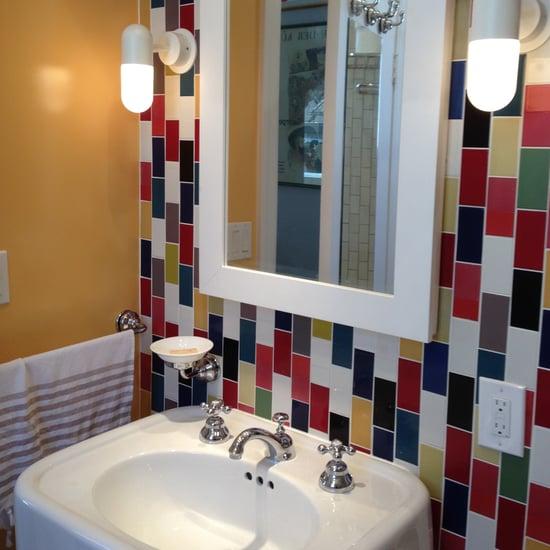 Colorful Bathroom Renovation