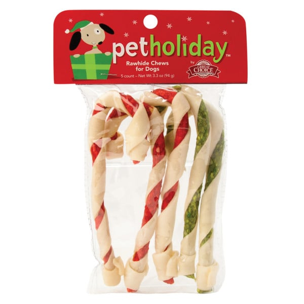 Candy Cane Rawhides
