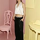 Suki Waterhouse at the Alice + Olivia New York Fashion Week Presentation