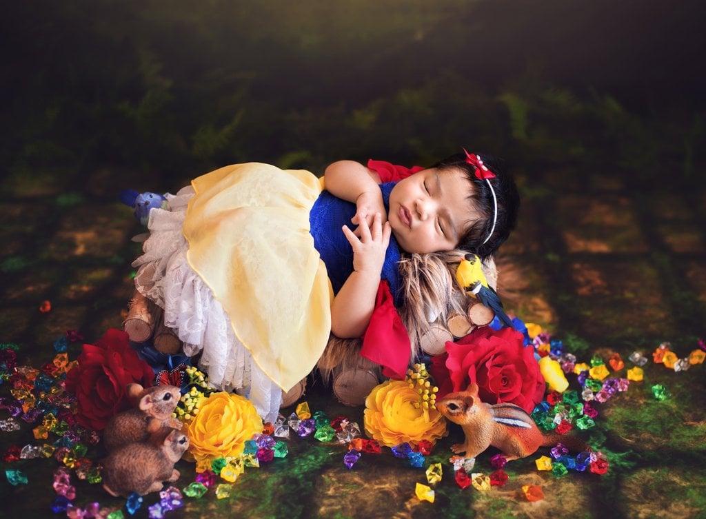 Snow White as a Newborn