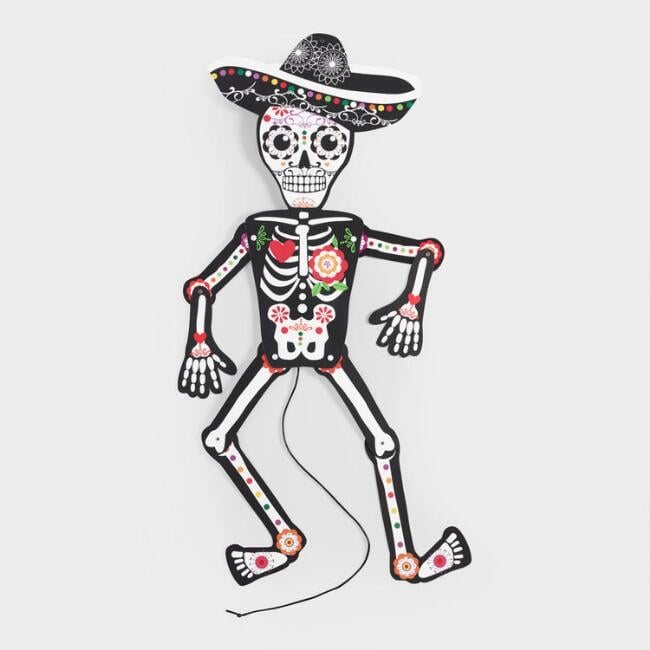 Day Of The Dead Dancing Skeleton ($6)