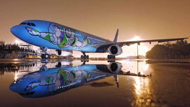 Disney Pixar Toy Story Land Themed Plane Popsugar Australia Parenting