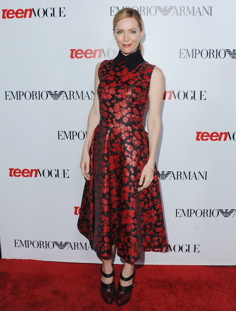 Leslie Mann opted for a charming Rodarte dress at Teen Vogue's annual Young Hollywood fete.