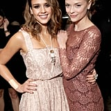 Jaime King and Jessica Alba have been friends for years, so it's no shock that the Hart of Dixie star chose Jessica to be the godmother of her son, James Knight Newman. Jessica was in attendance at baby James's blessing recently along with the little one's celebrity godfather, who is . . .