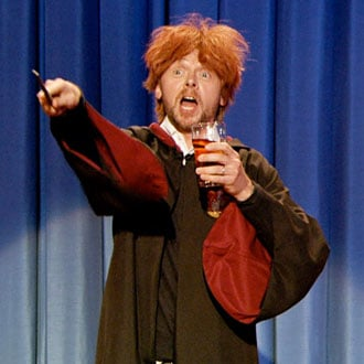 Simon Pegg as Drunk Ron Weasley Video