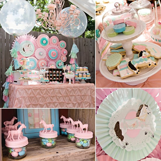 A Pretty Pony Party With Shabby-Chic Details
