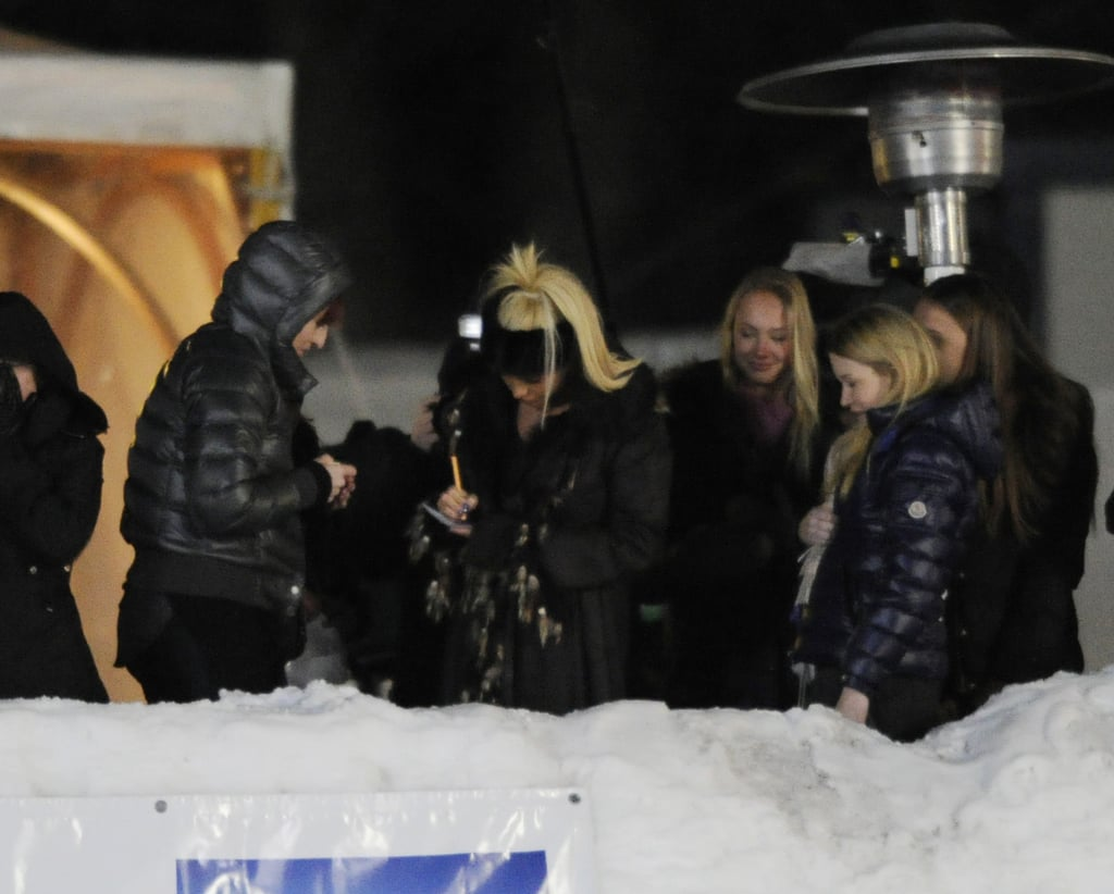 Pictures of Katie Price After Separation From Alex Reid at Polo in Klosters Switzerland