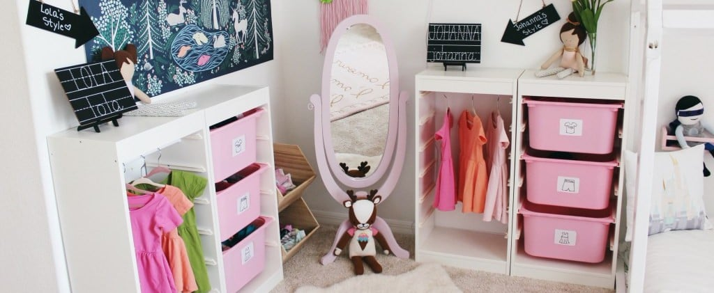 This DIY Wardrobe Station Will Make You Want to Spend Your Entire Paycheck on Kids Clothes