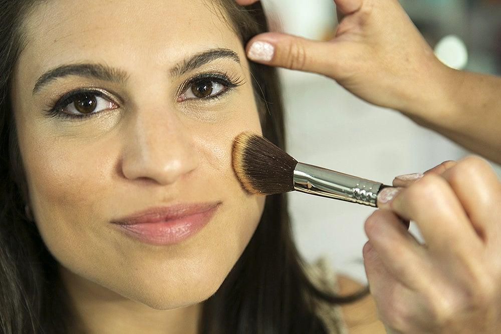 Step 7: Bronzing Cheeks