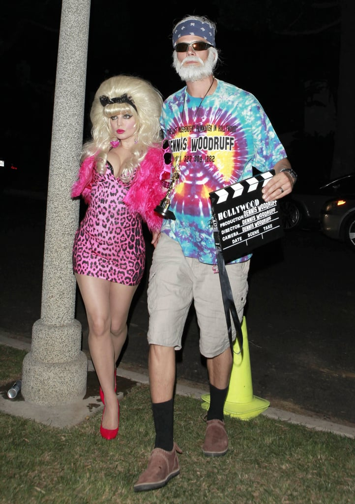 You may not recognize them . . . but that's Fergie and Josh Duhamel dressed as Angelyne and Dennis Woodruff.