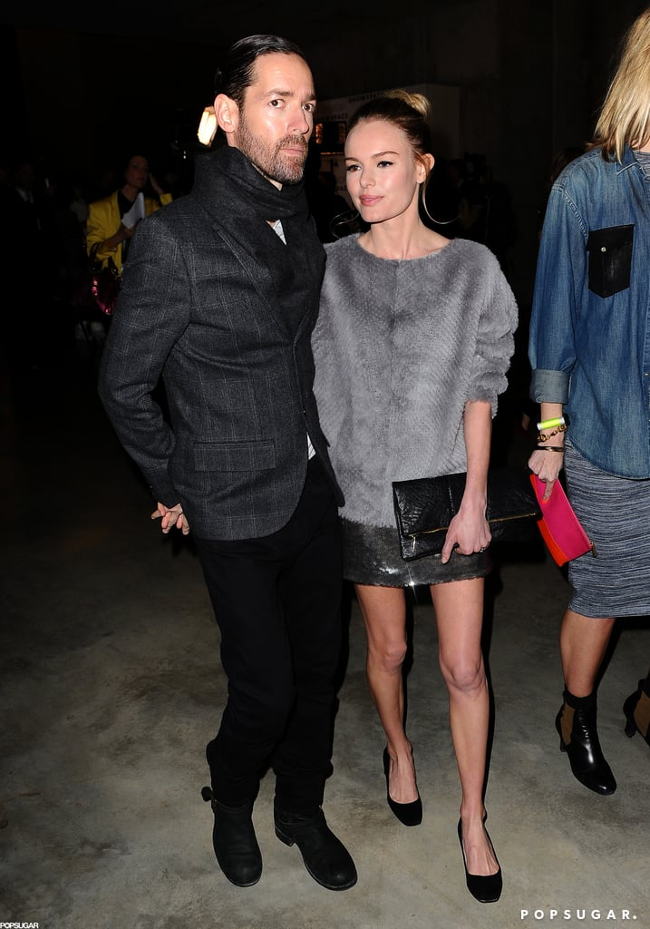Kate Bosworth and Michael Polish Show PDA at LFW