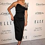 Kate Hudson Wearing a Black Dress