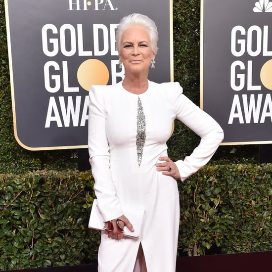 Jamie Lee Curtis Criticizes Fiji Water Girl at Golden Globes