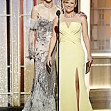 January: Nicole Joined Reese Witherspoon in Presenting at the Golden Globe Awards