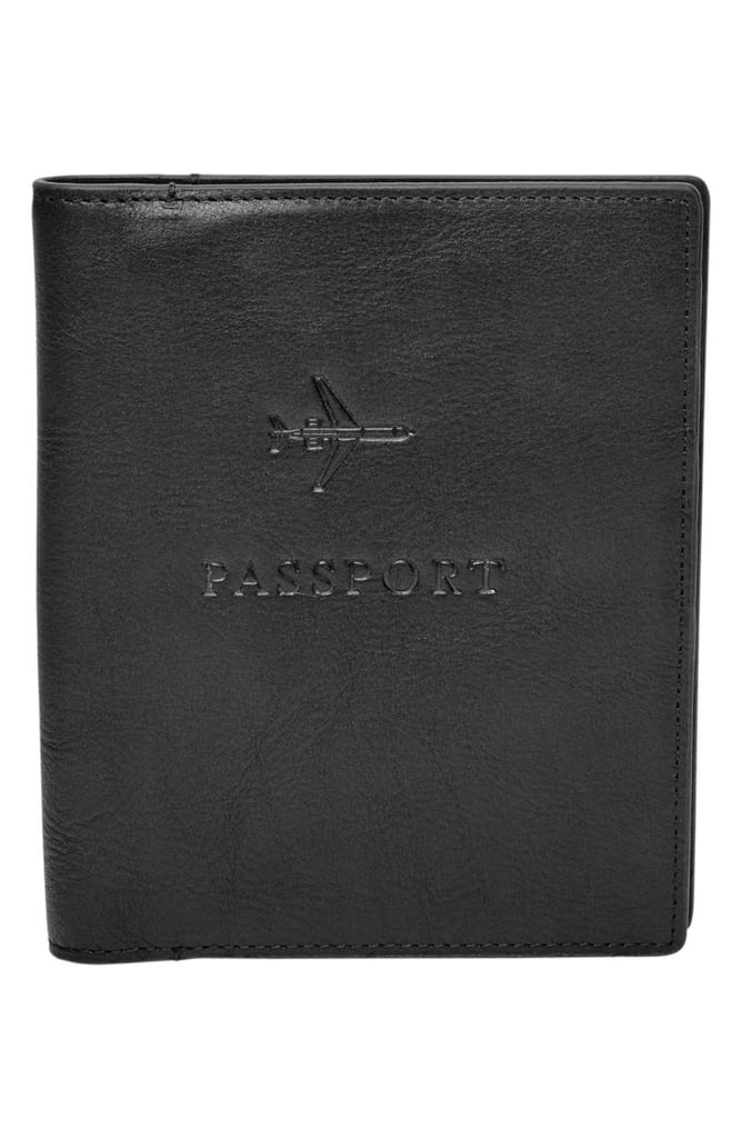 Fossil Leather Passport Case ($55)